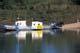 FERRY LOADING VEHICLE, LEMSFORD FERRY, SOUTH SASKATCHEWAN RIVER