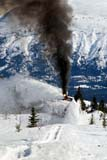 TRA TRA MIS  YT  PEH1000323D  VTWHITE PASS AND YUKON ROUTE STEAM ROTARY SNOWPLOWWHITE PASS                           04© PHIL HOFFMAN                    ALL RIGHTS RESERVEDALPINE;CORDILLERA;ENGINES;RAILROADS;RAILWAYS;SMOKE;SNOW;SNOW_REMOVAL;SNOWPLOWS;STEAM;STEAM_ENGINES;TRAINS;TRANSPORTATION;VTL;WHITE_PASS;WINTER;YT_;YUKON;YUKON_ROUTELONE PINE PHOTO              (306) 683-0889