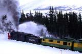 TRA TRA MIS  YT  PEH1000322DWHITE PASS AND YUKON ROUTE STEAM ROTARY SNOWPLOWWHITE PASS                              04 . .© PHIL HOFFMAN                       ALL RIGHTS RESERVEDALPINE;CORDILLERA;RAILROADS;SNOW;SNOWPLOWS;STEAM;TRAINS;TRANSPORTATION;WHITE_PASS;WINTER;YT_;YUKONLONE PINE PHOTO                  (306) 683-0889