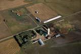 AER AUT SCE  SK     2009309DAERIAL VIEW OF FARM IN AUTUMNWARMAN                            09/13© CLARENCE W. NORRIS      ALL RIGHTS RESERVEDAERIAL;AUTUMN;CROPS;FARMING;HOMES;PLAINS;PRAIRIES;RURAL;SASKATCHEWAN;SCENES;SK_;WARMAN  LONE PINE PHOTO              (306) 683-0889
