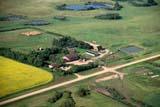 AER SUM SCE  SK     1804308DAERIAL VIEW OF CHAMPETRE FARM IN SUMMER ST. DENIS                           07/10© CLARENCE W. NORRIS     ALL RIGHTS RESERVEDAERIAL;DUGOUTS;FARMING;HOMES;PLAINS;PRAIRIES;ROADS;RURAL;SASKATCHEWAN;SCENES;SK_;ST._DENIS;SUMMERLONE PINE PHOTO              (306) 683-0889