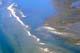 AERIAL VIEW OF SANDY SHORELINE, PAULATUK