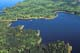 AERIAL OF LAKES & BOREAL FOREST, LAC LA RONGE PROVINCIAL PARK