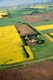AERIAL VIEW OF FARM AND SUMMER FIELDS, ABERDEEN
