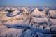 AERIAL OF SOUTHERN ROCKIES, KANANASKIS COUNTRY