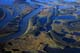 AERIAL OF THE MACKENZIE RIVER DELTA, INUVIK