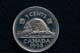 BEAVER ON CANADA 5 CENT COIN, SASKATOON