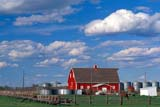 CAL AUT SCE  AB  CWN2207824DRED BARN AND FENCEDAYSLAND                           09..© CLARENCE W. NORRIS      ALL RIGHTS RESERVEDAB_;ALBERTA;AUTUMN;BARNS;BUILDINGS;CAL_AB;CALENDARS;CLOUDS;CORRALS;DAYSLAND;FARMING;FARMYARDS;FENCES;PLAINS;PRAIRIES;RURAL;SCENES;SKY;STRUCTURESLONE PINE PHOTO              (306) 683-0889
