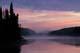 MIST AND SUNRISE, JACK LAKE, WOODLAND CARIBOU PROVINCIAL PARK