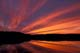 SUNSET OVER LAKE, WOODLAND CARIBOU PROVINCIAL PARK