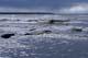 WIND-SWEPT WAVES, VICTORIA BEACH, LAKE WINNPEG