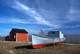 BOAT IN DRY DOCK, HECLA ISLAND