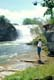 GIRL FISHING, LUNDBRECK FALLS