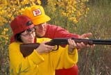 CAL HUN MIS  SK     1616501D  MR#287-288MAN INSTRUCTING DAUGHTER TO USE .30-.30 RIFLELANGHAM                            0921© CLARENCE W. NORRIS      ALL RIGHTS RESERVEDACTIVITIES;ADULTS;AUTUMN;CAL_HUNTING;CALENDARS;CO_ED;COUPLE;DOUGLAS;FAMILIES;FEMALE;GUNS;HUNTING;LANGHAM;MALE;MR_;OUTDOORS;PEOPLE;RIFLES;SASKATCHEWAN;SCENES;SHARING;SK_;TAMARA;TEENS;WEAPONSLONE PINE PHOTO              (306) 683-0889
