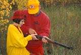 CAL HUN MIS  SK     1616311D  MR#287-288MAN INSTRUCTING DAUGHTER HOW TO USE .30-.30 RIFLELANGHAM                            0921© CLARENCE W. NORRIS      ALL RIGHTS RESERVEDAUTUMN;CAL_HUNTING;CALENDARS;CO_ED;COUPLE;DOUGLAS;FAMILIES;FEMALE;FOREST;GUNS;HUNTING;LANGHAM;MALE;MR_;OUTDOORS;PEOPLE;PLAINS;PRAIRIES;RIFLES;SASKATCHEWAN;SCENES;SHARING;SK_;TAMARA;TEENS;WEAPONSLONE PINE PHOTO              (306) 683-0889