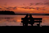 CAL PEO SUM  AB     1810118D  MRCOUPLE ON BENCH AT TWILIGHT                   ELK ISLAND NATIONAL PARK  08/04© CLARENCE W. NORRIS        ALL RIGHTS RESERVEDAB_;ALBERTA;ALYS;BENCH;BOATS;CAL_PEOPLE;CALENDARS;COUPLE;ELK_ISLAND_NP;LAKES;MR_;NP_;OUTDOORS;PARKLAND;PEOPLE;PLAINS;PRAIRIES;SCENES;SIMON;SUMMER;TWILIGHT;WATER LONE PINE PHOTO              (306) 683-0889