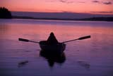 CAL PEO SUM  AB     1810211D WOMAN IN ROWBOAT AT TWILIGHT ASTOTIN LAKE                   ELK ISLAND NATIONAL PARK 08/04© CLARENCE W. NORRIS       ALL RIGHTS RESERVEDAB_;ALBERTA;ASTOTIN_LAKE;BOATS;CAL_PEOPLE;CALENDARS;ELK_ISLAND_NP;FEMALE;LAKES;NP_;OUTDOORS;PARKLAND;PEOPLE;REFLECTIONS;ROWBOAT;SCENES;SILHOUETTE;SUMMER;TWILIGHT;WATER LONE PINE PHOTO              (306) 683-0889