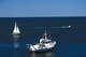 SAILBOAT & FISHING BOAT, GRAND MANAN ISLAND