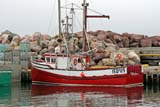 CAL SUM SCE  NL  MTT05B3128DXBIG RED, FISHING BOAT AT DOCK ST. BRIDE'S HARBOUR          06..© MIKE TOBIN                     ALL RIGHTS RESERVEDATLANTIC;BOATS;CAL_NL;CALENDARS;EAST_COAST;FISHING;HARBOURS;INDUSTRY;MARINAS;MARITIMES;NEWFOUNDLAND;NL_;SCENES;ST_BRIDE;SUMMER;TRANSPORTATION;WATERLONE PINE PHOTO              (306) 683-0889