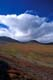 FALL COLOURED MOUNTAINS AND SKY, DEMPSTER HIGHWAY