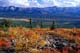 RICHARDSON MOUNTAINS IN FALL, EAGLE PLAINS