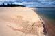 SANDY SHORELINE ON ISLAND, THELON RIVER