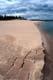 SHORELINE OF SAND ISLAND, THELON RIVER