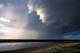 THUNDERSTORM OVER RIVER, THELON RIVER