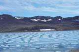 CAL SUM SCE  NT  KJM0007811DROTTING SEA ICE AND HILLSHOLMAN                            06..© KEVIN MORRIS                ALL RIGHTS RESERVEDARCTIC;CAL_NT;CALENDARS;HILLS;HOLMAN;ICE;NORTHWEST;NORTHWEST_TERRITORIES;NT_;NWT;SCENES;SHORELINE;SUMMER;TERRITORIES;WATERLONE PINE PHOTO              (306) 683-0889