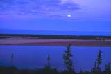 CAL SUM SCE  NT  IAW1703533DMOONRISE OVER RIVER AT LOOKOUT POINTTHELON RIVER              07/. . © IAN A. WARD             ALL RIGHTS RESERVEDARCTIC;CAL_NT;CALENDARS;MOON;MOONRISE;NORTHWEST;NORTHWEST_TERRITORIES;NT_;NWT;RIVERS;RIVERBANK;SANDBARS;SCENES;SHIELD;SHORELINE;SUMMER;TERRITORIES;THELON_RIVER;WATERLONE PINE PHOTO                  (306) 683-0889