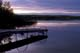 DOCK AND CALM LAKE, LAC LA PECHE