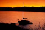 CAL AUT SCE  SK     1307121ADSAILBOAT IN AFTERGLOWREDBERRY LAKE                  10/03© CLARENCE W. NORRIS      ALL RIGHTS RESERVEDAUTUMN;BOATS;CAL_SK;CALENDARS;COTTAGE;LAKES;PARKLAND;PLAINS;PRAIRIES;REDBERRY_LAKE;SAILBOAT;SAILING;SASKATCHEWAN;SCENES;SK_;SKY;SUNSETS;WATER LONE PINE PHOTO              (306) 683-0889