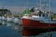 FISHING BOATS AT WHARF, ILE DE LA GRANDE ENTREE, MAGDALEN ISLANDS, GULF OF SAINT LAWRENCE