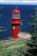 LIGHTHOUSE, ST. LAWRENCE RIVER, GASPE PENINSULA, POINTE-A-LA-RENOMMEE