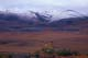 SNOW DUSTED MOUNTAINS IN FALL, DEMPSTER HIGHWAY