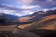 TOMBSTONE MOUNTAIN IN FALL, DEMPSTER HIGHWAY, YUKON