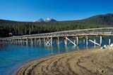 CAL AUT SCE  YT  KJM1923911DLAKESHORE AND BRIDGECARCROSS                        09..© KEVIN MORRIS                ALL RIGHTS RESERVEDAUTUMN;BRIDGES;CAL_YT;CALENDARS;CARCROSS;CORDILLERA;SCENES;STRUCTURES;WATER;YT_;YUKONLONE PINE PHOTO             (306) 683-0889