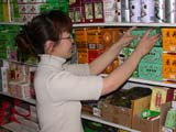CUL CHI MIS  SK  CWN03D5396DCHINESE GROCERY CLERK IN TEA SECTIONEASTERN MARKET               NMRSASKATOON                       0626© CLARENCE W. NORRIS      ALL RIGHTS RESERVEDACTIVITIES;ASIAN;BEVERAGES;CULTURE;FEMALE;FOOD;GROCERIES;INDOORS;MINORITIES;OCCUPATIONS;PEOPLE;PLAINS;PRAIRIES;RETAIL;SASKATCHEWAN;SASKATOON;SHOPPING;SK_;TEALONE PINE PHOTO                  (306) 683-0889