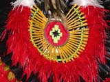 CUL NAT POW  SK  CWN02D4242D          CLOSE-UP OF POW WOW DANCER'S BUSTLE SASKATOON                       1019© CLARENCE W. NORRIS      ALL RIGHTS RESERVEDABORIGINAL;BUSTLES;CLOTHING;COSTUMES;CULTURE;DANCE;FIRST;FIRST_NATIONS;MALE;NATIONS;PEOPLE;PLAINS;POW;POW_WOW;PRAIRIES;SASKATCHEWAN;SASKATOON;SK_;WOWLONE PINE PHOTO              (306) 683-0889