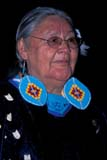 CUL NAT POW  SK  CWN2210201D  VTABORIGINAL GRANDMOTHER AT POW WOWSASKATOON                       10/..© CLARENCE W. NORRIS      ALL RIGHTS RESERVEDABORIGINAL;BEADS;CLOTHING;COSTUMES;CULTURE;ELDERS;FEMALE;FIRST;FIRST_NATIONS;GLASSES;INDOORS;NATIONS;PEOPLE;PLAINS;POW;POW_WOW;PRAIRIES;SASKATCHEWAN;SASKATOON;SENIORS;SK_;SUMMER;VTL;WOWLONE PINE PHOTO              (306) 683-0889