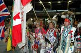 CUL NAT POW  SK  WDS05E8255DXMALE POW WOW DANCERS HOLDING FLAGS2005 CULTURAL CELEBRATION & POW WOWSASKATOON                     ....© WAYNE SHIELS               ALL RIGHTS RESERVEDABORIGINAL;CLOTHING;COSTUMES;CULTURE;DANCE;ELDERS;FLAGS;FIRST;FIRST_NATIONS;INDOORS;MALE;NATIONS;PEOPLE;PLAINS;POW;POW_WOW;PRAIRIES;SASKATCHEWAN;SASKATOON;SENIORS;SK_;WOWLONE PINE PHOTO              (306) 683-0889