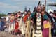 POW WOW DANCERS - LADIES IN TRADITIONAL DRESS, SASKATOON