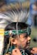 TINT TOT CREE GRASS DANCER, HANDS TYING HEADDRESS, SASKATOON