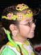 ABORIGINAL GIRL IN COSTUME AT POW WOW, SASKATOON