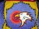 CLOSE-UP OF BEADED EAGLE ON POW WOW COSTUME, SASKATOON