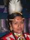 WOMAN IN POW WOW COSTUME, SASKATOON