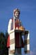 UKRAINIAN WELCOME LADY STATUE, CANORA