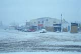 ELE SNO MIS  AB  KJM0300815D      SNOWSTORM ON MAIN STREETTHREE HILLS                       04/..© KEVIN MORRIS                ALL RIGHTS RESERVEDAB_;ALBERTA;BLIZZARDS;ELEMENTS;PLAINS;PRAIRIES;SLUSH;SNOW;SNOWSTORM;SPRING;STREETS;THREE_HILLS;TOWNSLONE PINE PHOTO              (306) 683-0889