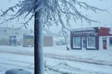 ELE SNO MIS  AB  KJM0301904D      SNOWSTORM ON MAIN STREETTHREE HILLS                       04/..© KEVIN MORRIS                ALL RIGHTS RESERVEDAB_;ALBERTA;BLIZZARDS;ELEMENTS;PLAINS;PRAIRIES;SNOW;SNOWSTORM;SPRING;STREETS;THREE_HILLS;TOWNSLONE PINE PHOTO              (306) 683-0889