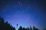 ELE STA TRA  MB  IAW1901605D     STAR TRAILS AND FIRE LOOKOUT TOWERPOLARIS AND THE BIG DIPPERMANITOBA                               04/. .© IAN A. WARD                        ALL RIGHTS RESERVEDASTRONOMY;ELEMENTS;LIGHT;LOOKOUT_TOWERS;MANITOBA;MB_;NIGHT;PLAINS;POLARIS;PRAIRIES;ROTATION;SCENES;SKY;STAR_TRAILS;STARSLONE PINE PHOTO                  (306) 683-0889